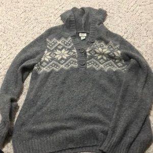 Motherhood Maternity XL Hooded Sweater